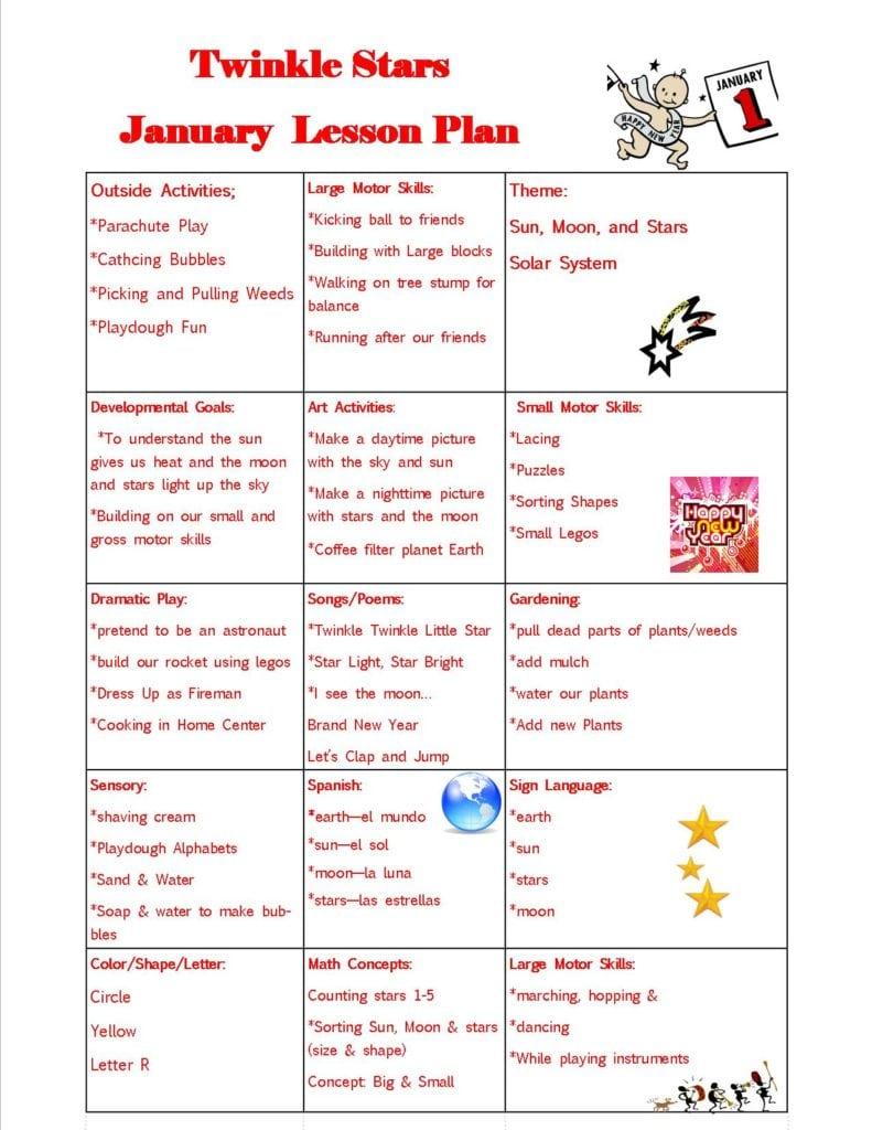 Movement lesson plan