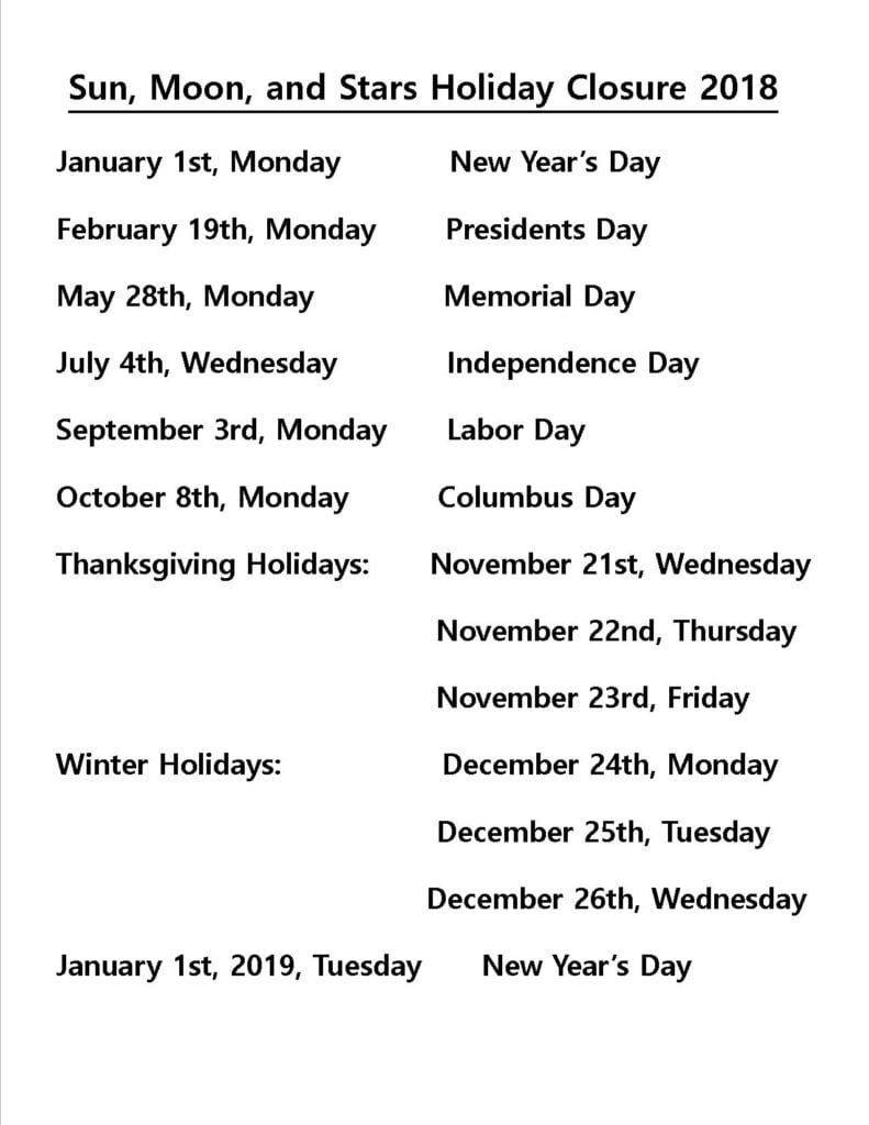 Holidays-2018